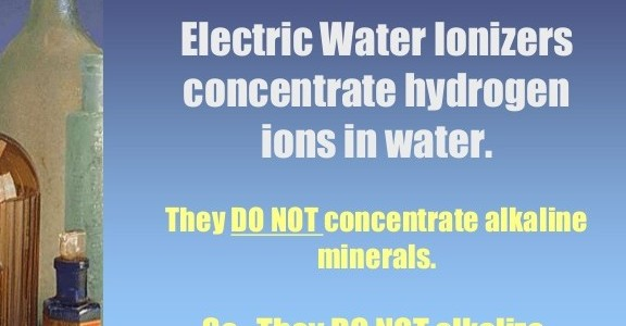 Don't Buy An Alkaline Water Ionizer…Ever
